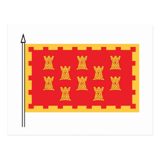The Greater Mancunian Flag Postcard