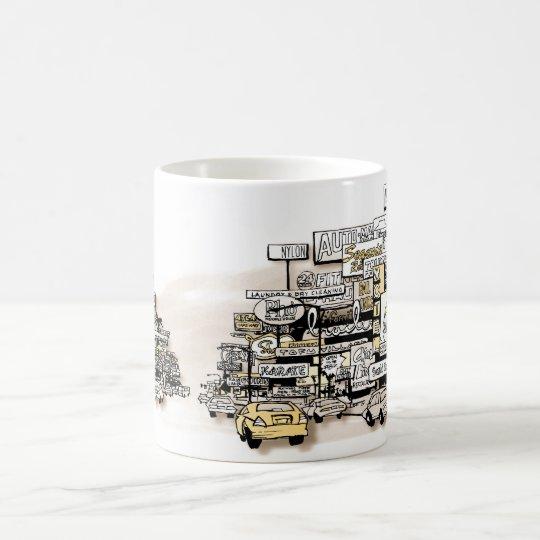 The Greater Suburban Strip Coffee Mug