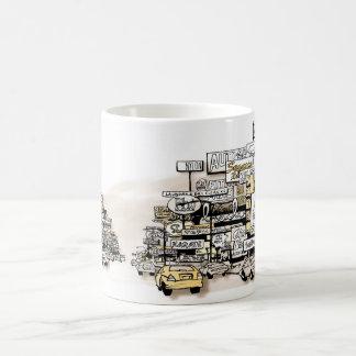 The Greater Suburban Strip Coffee Mugs