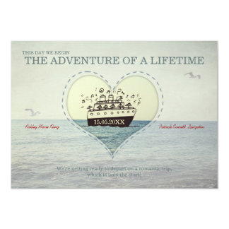 The Greatest Adventure - Wedding Invite