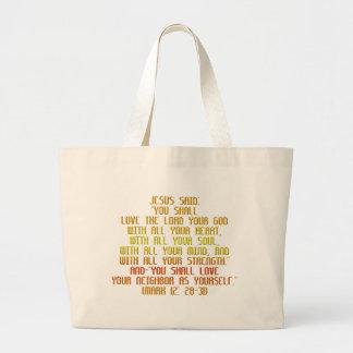The Greatest Commandment Bags