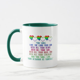The Greatest Commandment Mug