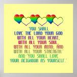 The Greatest Commandment Print