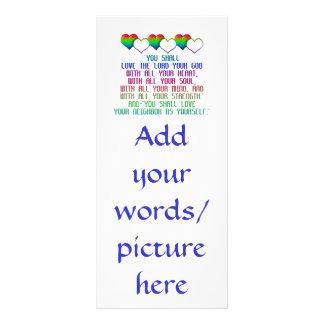 The Greatest Commandment Rack Card