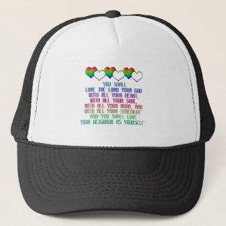 The Greatest Commandment Trucker Hat
