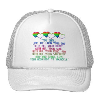 The Greatest Commandment Trucker Hat