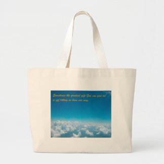 The Greatest Gift Canvas Bag