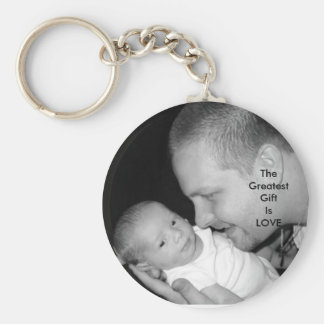 The Greatest Gift Is LOVE Keychain