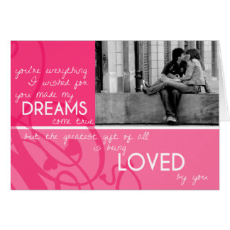 The Greatest Gift Photo Valentine s Day Card