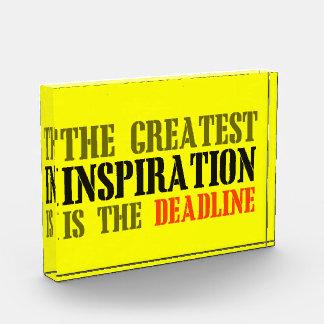 THE GREATEST INSPIRATION IS DEADLINE FUNNY MEME AWARD