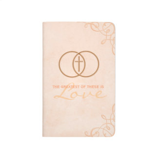 The Greatest is Love Pocket Journal