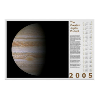The Greatest Jupiter Portrait: 2005 Print