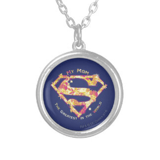 The Greatest Mom in the World Silver Plated Necklace