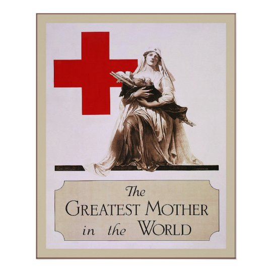 The Greatest Mother in the World ~ Vintage Nurse Poster