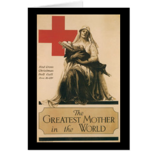 The Greatest Mother World War II Greeting Card