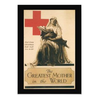 The Greatest Mother World War II Invitations