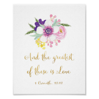 The greatest of these is Love - Art Print
