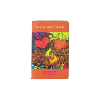 The Greatest of These Is Love Notebook - Pocket