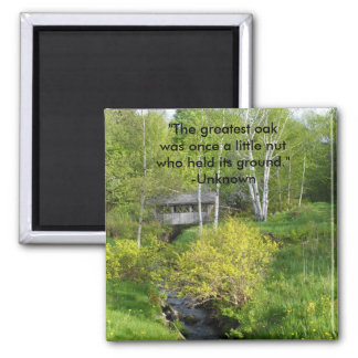 """The greatest osk was once a little n... Fridge Magnets"