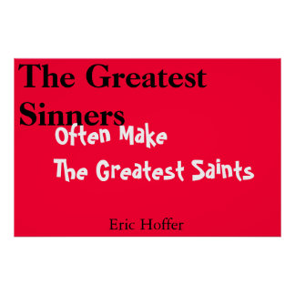 the greatest saints poster