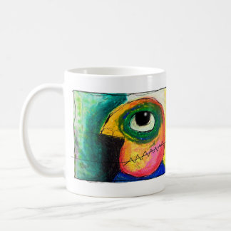 the greedy representative. coffee mug
