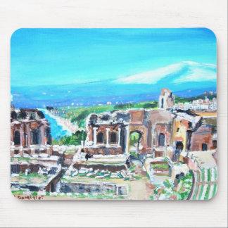 The Greek Amphitheater Ruins - Mousepad