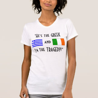 The Greek and The Tragedy Tshirts