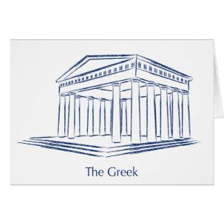 The Greek Card