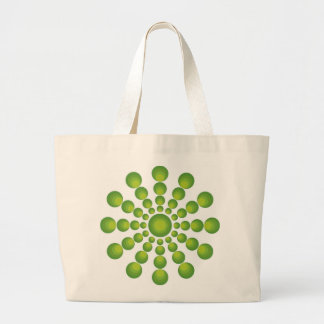 The Green 70's year Large Tote Bag