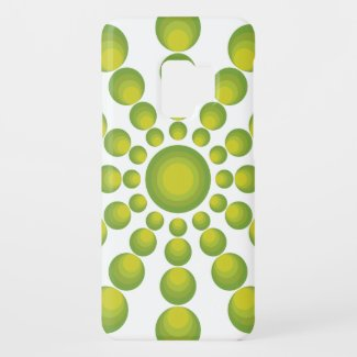 The Green 70's year styling Case-Mate Samsung Galaxy S9 Case
