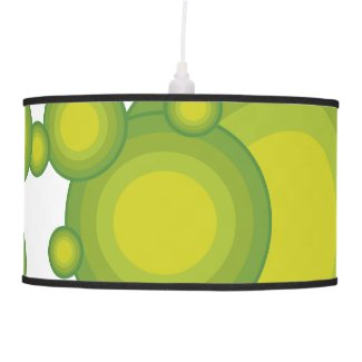 The Green 70's year styling Hanging Lamp
