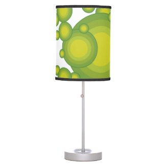 The Green 70's year styling Table Lamp