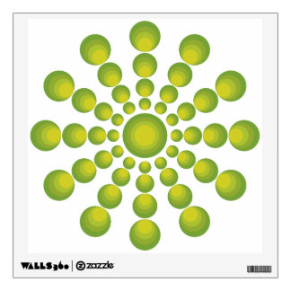 The Green 70's year styling Wall Decal
