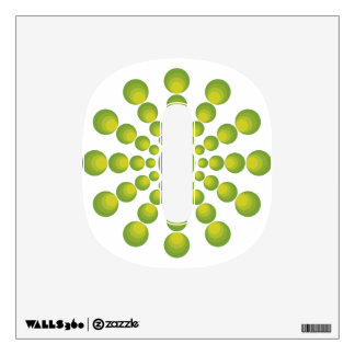 The Green 70's year styling Wall Sticker