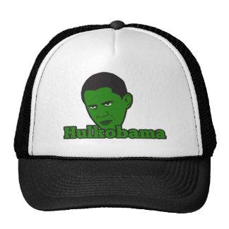 The Green Angry Hulkobama Trucker Hat