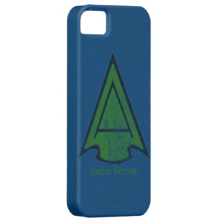 The Green Arrow Head in blue ipone 4 cases iPhone 5 Cases