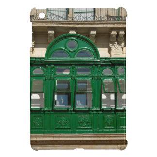 The green balcony iPad mini cases