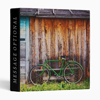 The Green Bicycle 1 Binder Options