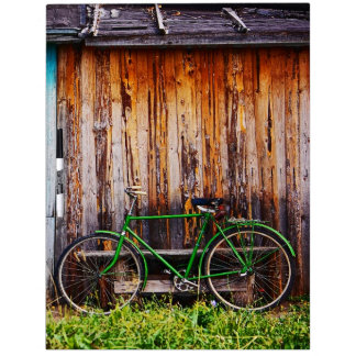 The Green Bicycle 1 Dry-Erase Board