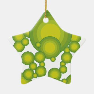 The Green blisters Ceramic Ornament