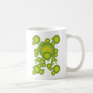 The Green blisters Coffee Mugs