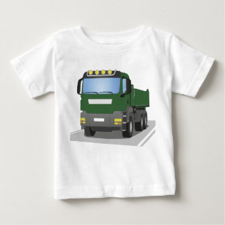 the Green building sites truck Baby T-Shirt
