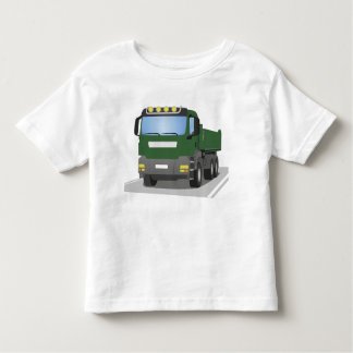 the Green building sites truck Toddler T-shirt