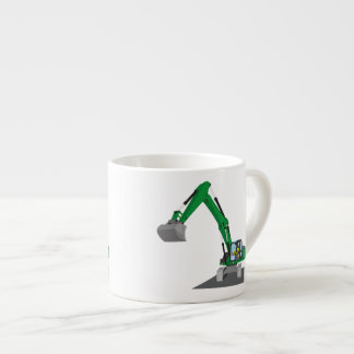 the Green chain excavator Espresso Cup