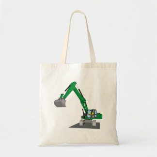 the Green chain excavator Tote Bag