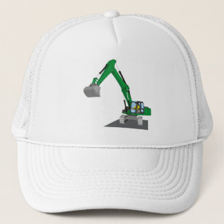 the Green chain excavator Trucker Hat