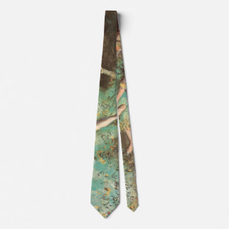 The Green Dancer by Edgar Degas, Vintage Ballet Neck Tie