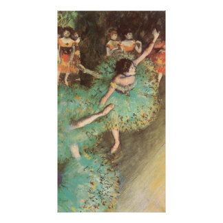 The Green Dancer by Edgar Degas, Vintage Ballet Poster