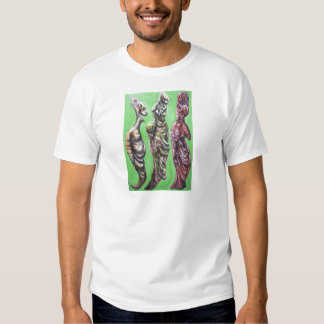 The Green Dialogue (Plato, Socrates and his wife) T Shirt