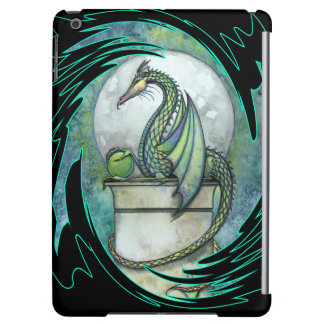 The Green Dragon Fairy Fantasy Art iPad Air Cover